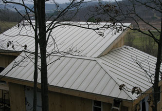 Roof from behind