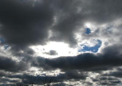 mid-day Christmas sky