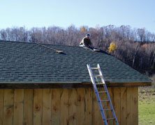 finishing shingles