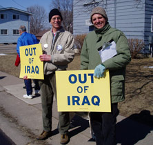 Winona Peace Rally (March 17, 2007)